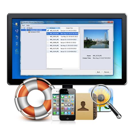 reset tool iphone winavi iphone data recovery tools