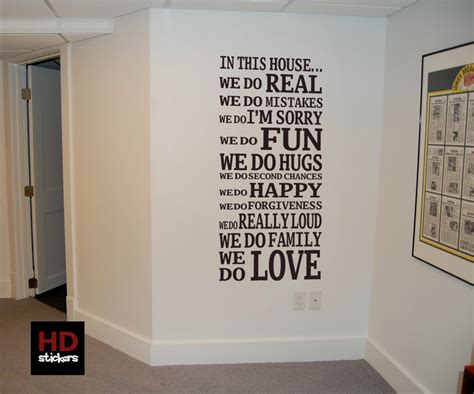 quotes sayings wall decor quotesgram family room wall quotes quotesgram
