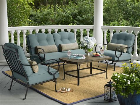 la z boy outdoor furniture la z boy outdoor dade 4pc ashville 4 pc seating set limited availability sears outlet