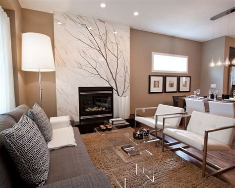 tan and grey living room modern house 1000 images about living dining combo ideas on