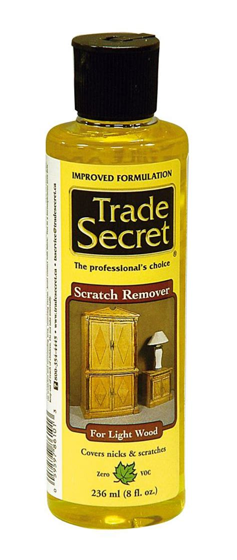 Furniture Scratch Remover by Trade Secret Scratch Remover Light Wood 236ml S The
