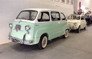 1960 Fiat Multipla For Sale 1958 Fiat 500 And 1960 Fiat Multipla Classic Fiat Other