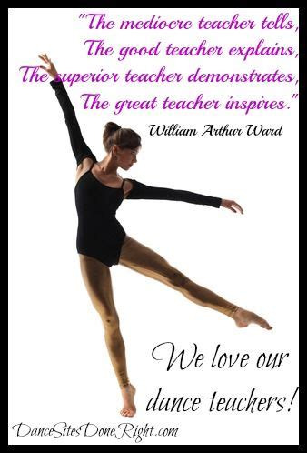 Thank You Letter To Ballet Quotes Dancesitesdoneright To Be And Teaching