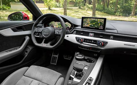 audi a4 2016 interior drive review audi a4 pre production model 2015