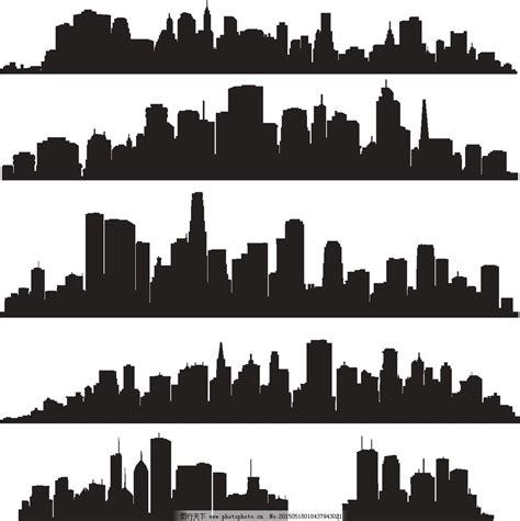 风景图案设计黑白 风景画册设计 色彩风景图案设计 标志图形设计 简单渐变图案设计 图案设计 风景