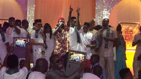 Wedding Song Of Chunks by A List Musicians Turn Paul Okoye S Wedding Into Mini