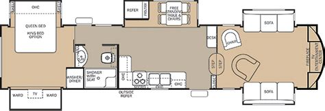 cedar creek 5th wheel floor plans fifth wheels by forest river forest river inc