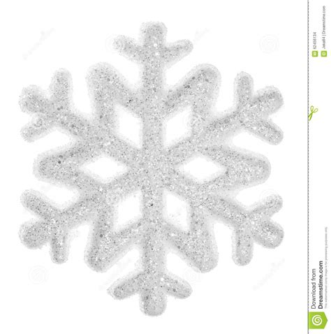 snowflake isolated on a white background