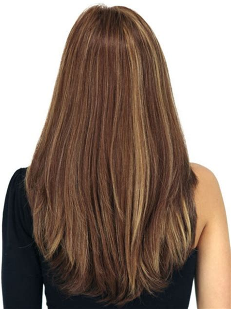 back views of long layer styles for medium length hair long layered haircuts back view