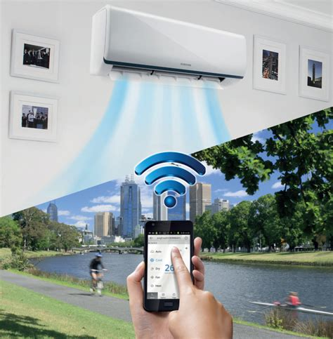 Ac Samsung Wifi summer lovin samsung offers new wi fi enabled air conditioners 171 appliances