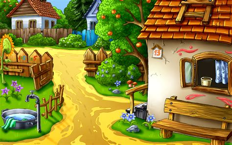 Cartoon Village Wallpaper | village animated hd wallpaper hd latest wallpapers