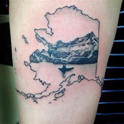 alaskan tattoos designs 25 beautiful alaska ideas on mountain