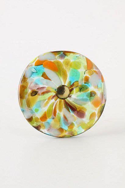 Anthropologie Glass Knobs by Molten Spectrum Knob Warm Speckles Anthropologie For