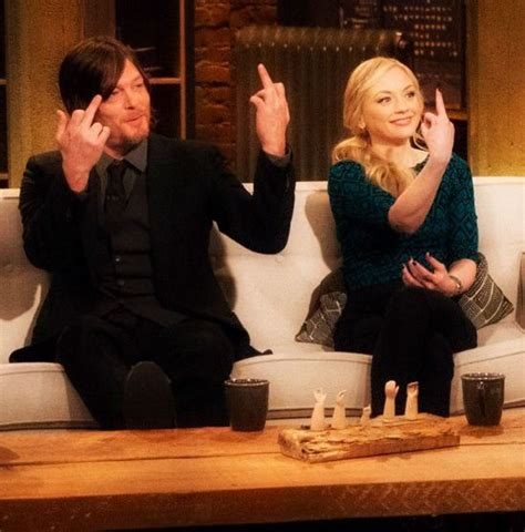 emily kinney talks about her music and how walking dead producers 559 best norman reedus