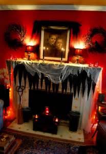 Halloween Fireplace Decorating Ideas Halloween Mantle Decorating Ideas