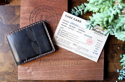 Headlands Handmade - hoodzpah branding agency headlands handmade leather goods