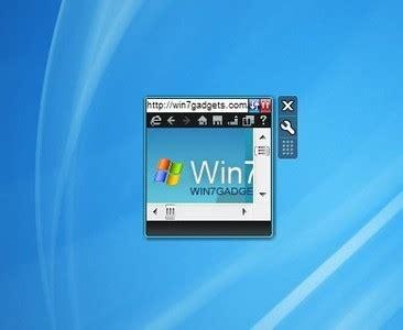 minibrowser 0.6 windows 7 desktop gadget