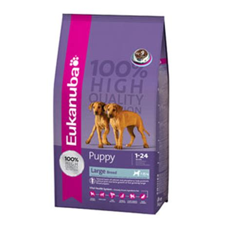 large breed puppy food comparison cheap eukanuba large breed puppy chicken 15kg petmoneysaver