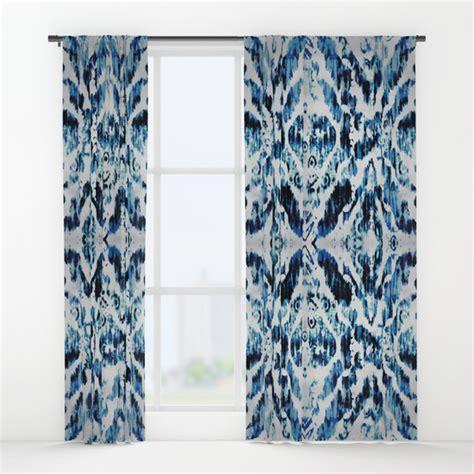 tie dye window curtains peacock tie dye damask window curtains by nina may designs