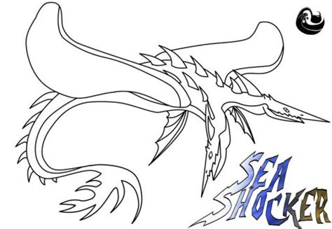 coloring pages for how to your seashocker explore seashocker on deviantart
