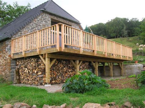 Runde Holzterrasse Bauanleitung 4315 by Terrassen Auf St 228 Nderwerk Holzterrasse Die