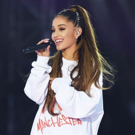 get the look ariana grande s edgy ponytail with hair rings