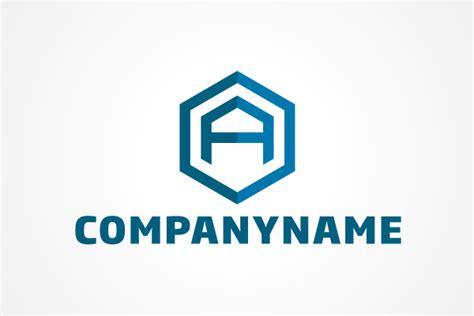 Letter Logo Free Logo Letter A Hexagon Logo
