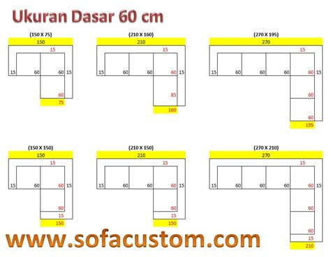 Daftar Sofa Bentuk L design ukuran sofa l buat sofa sesuai keinginan