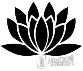 Lotus Flower Stencils 25 Best Ideas About Stencil Patterns On