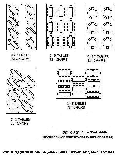 wedding tent layout ideas 20x30 tent table layout for up to 70 people wedding