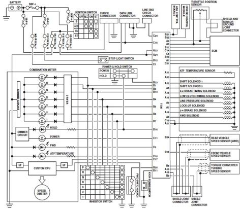 2001 subaru forester wiring diagram wiring diagram and