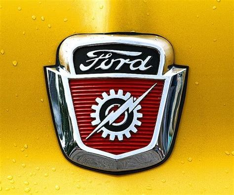 ford old logo 50 s ford hood emblem ford pinterest tattoos and