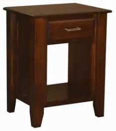Horizon Shaker Nightstand Amish Crafted - woodloft locally amish custom crafted solid wood