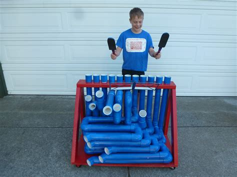 pvc and pipe engineer put together cool easy maker friendly stuff books pvc pipe instrument make