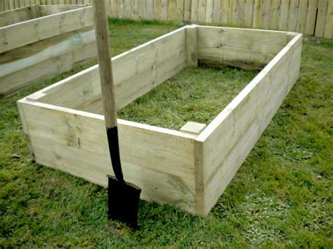 raised bed kit raised vegetable beds 14in high premier timber raised