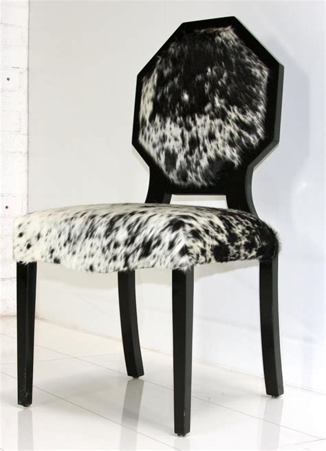 Cowhide Dining Room Chairs Www Roomservicestore Cowhide Octagon Dining Chair