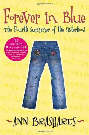 need to sisterhood books forever in blue the fourth summer of the sisterhood