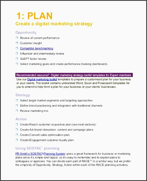 advertising plan template 10 how to create advertising plan in excel