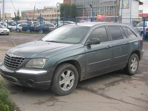 2003 Chrysler Pacifica by 2003 Chrysler Pacifica Photos 3 5 Gasoline Ff