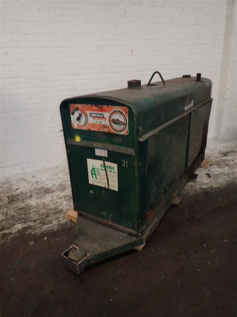 used lincoln welder used lincoln welder hgr industrial surplus