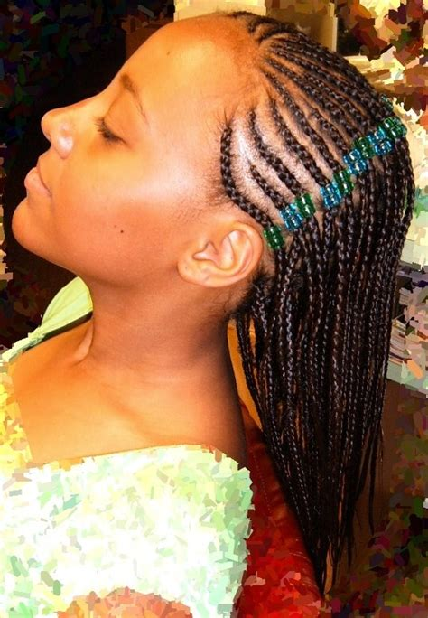 hairstyles for girls braids gallery french braid hairstyles for little black girls