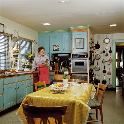 julia child kitchen in julias kitchen practical and convivial kitchen design