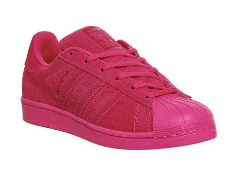 mens adidas superstar 1 eqt pink mono trainers shoes ebay