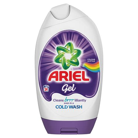 What Temperature To Wash Colors by Colour Style Gel For Washing Colours On Cold Ariel