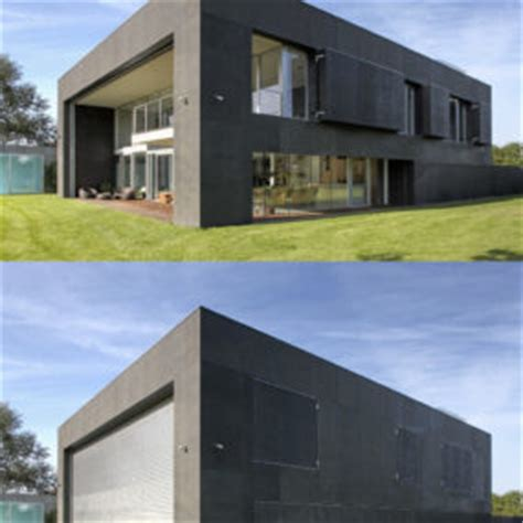 safe house amazing home closes into solid concrete cube home completely open to elements can still be completely
