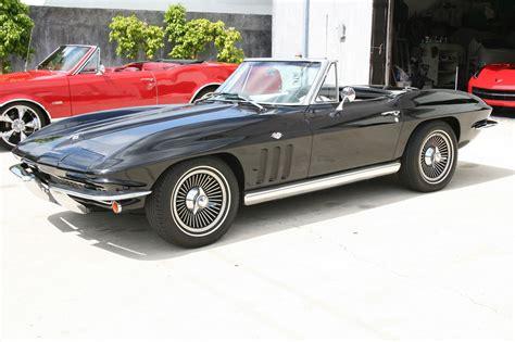 Wheels Classics 1965 Corvette Green 1965 corvette convertible number matching 327 365hp 4 speed knock wheels classic chevrolet
