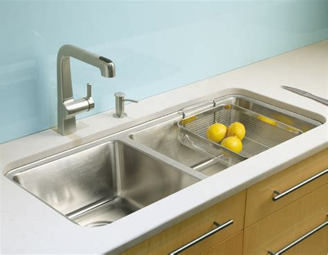 large kitchen sink prologue large medium self rimming undercounter kitchen