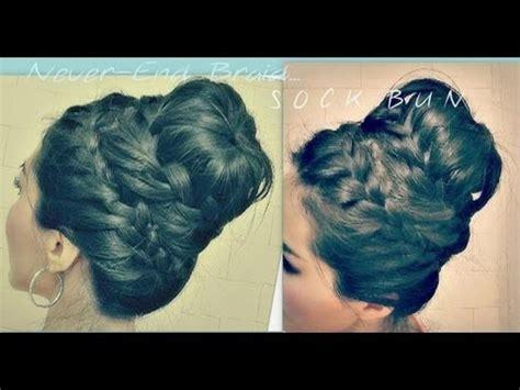 homecoming hair braids instructions 1000 ideas about braided sock buns on pinterest medium