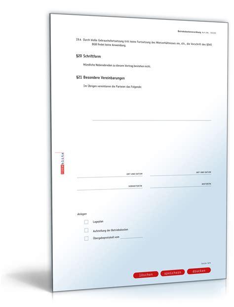 Musterbriefe Gegen Unberechtigte Forderungen Untermietvertrag Gewerber 228 Ume Muster Zum
