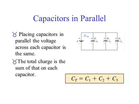 capacitor in parallel ppt voltage across a capacitor in parallel with a resistor 28 images capacitor and inductor ppt